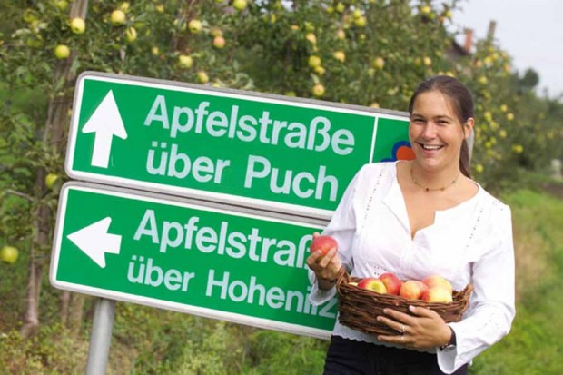 Apfelstraße- Almenlandbüro