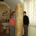 Holzstöckchen in jeder Wohnung. Der Fantasie sind keine Grenzen gesetzt.