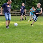 Ballspielen oder Fußballspielen.... am Erlebnisspielplatz