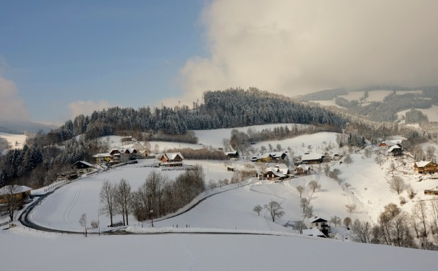 Winter in Rossegg