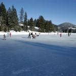 Eislaufen am Teichalmsee Copr. TV Almenland Fotograf B. Bergmann