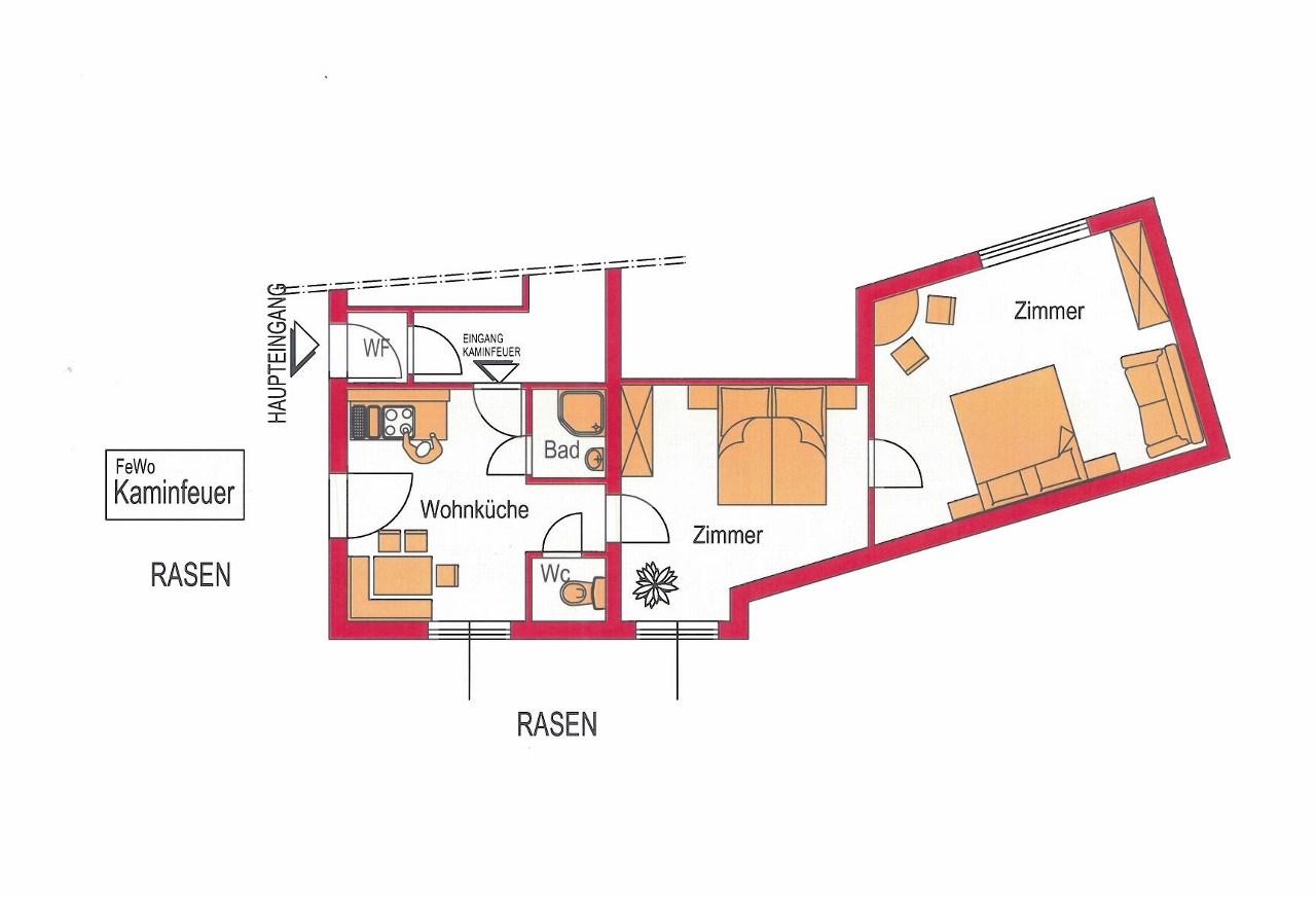 ferienwohnung kaminfeuer familie perhofer. Black Bedroom Furniture Sets. Home Design Ideas