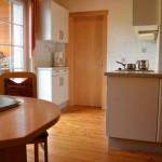 Voll ausgestattete Wohnküche - Ferienwohnung Abendsonne