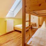 Dreibettzimmer der Wohnung Morgenrot