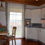 Wohnküche voll ausgestattet - Ferienwohnung Kaminfeuer