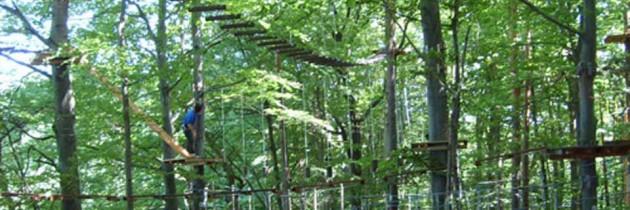Erlebnispark Geier – Hochseilgarten