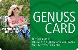GenussCard - Geschenkt zu Ihrem Urlaub!
